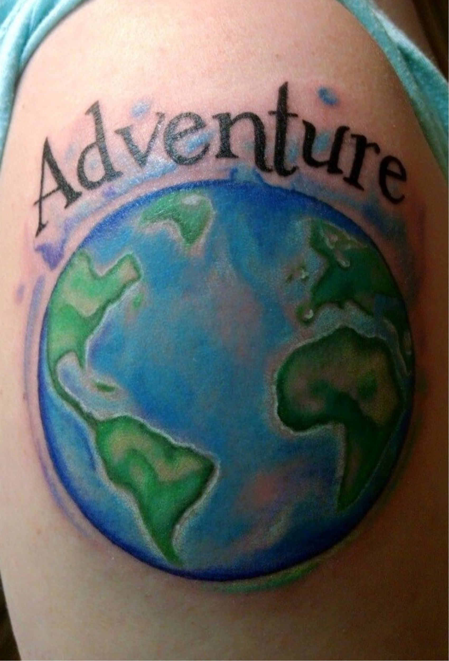 travel blogger tattoos