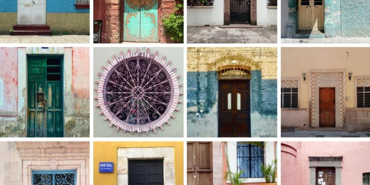 40 Cool Quirky and Colourful Mexican Doors and Windows & 40 Cool Quirky and Colourful Mexican Doors and Windows - Northern ...