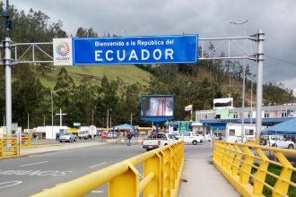 COLOMBIA TO ECUADOR BY BUS