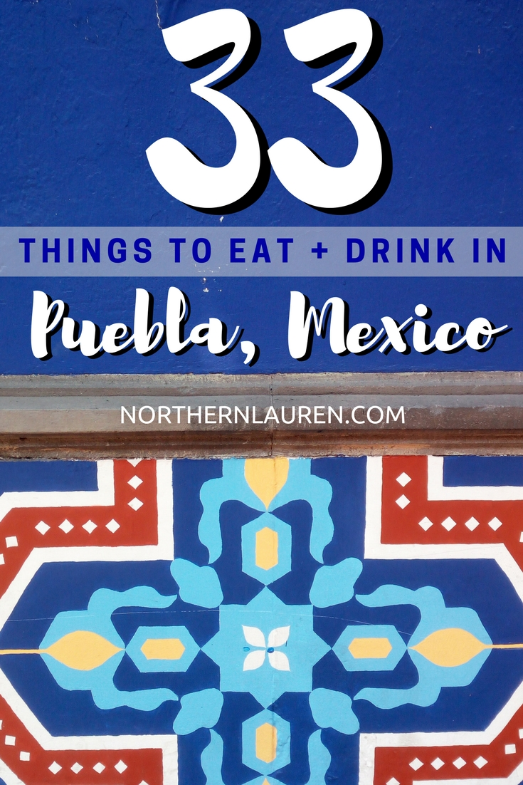 popular mexican foods puebla mexico