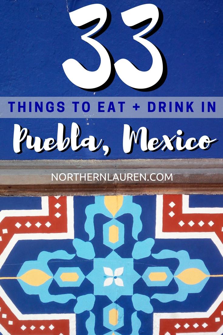 popular mexican foods puebla mexico
