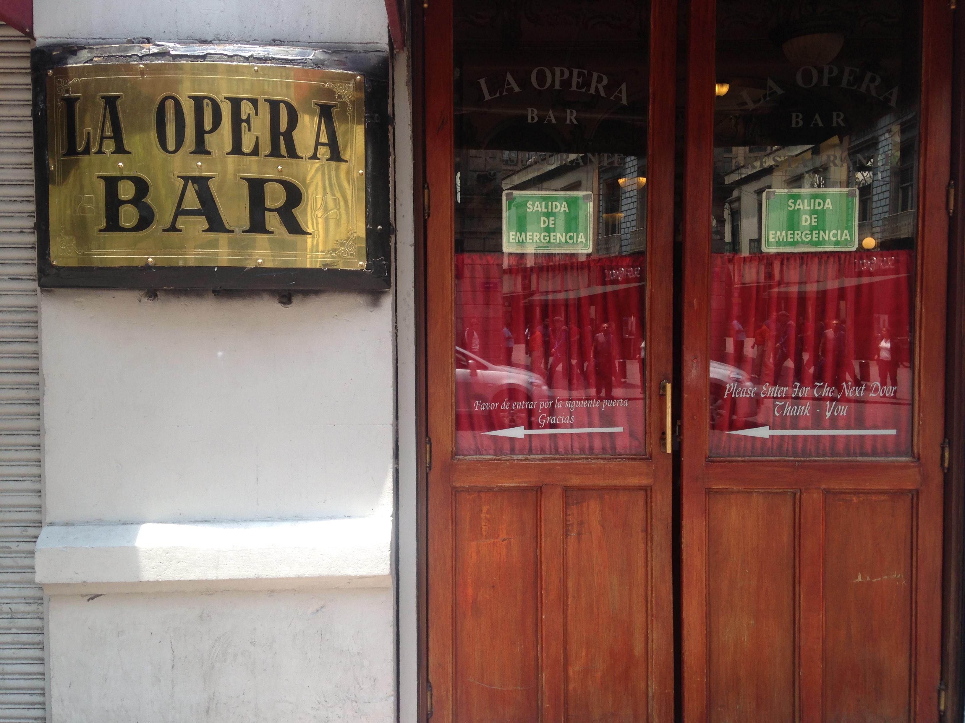 bars in historic centre mexico city