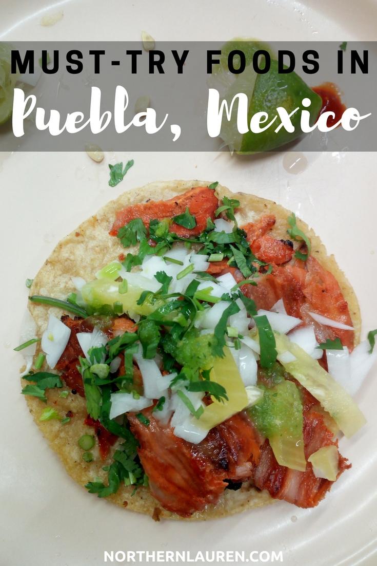 popular mexican food puebla mexico